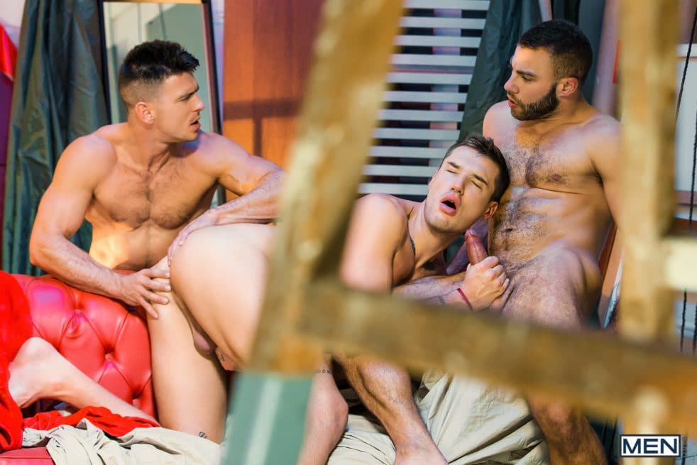 Gay Porn Star Threesome